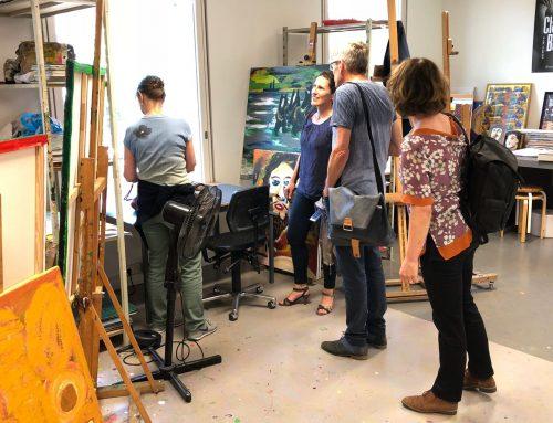 Outsider Art Galerie Amsterdam: 'Met kunstwerken maak je contact'